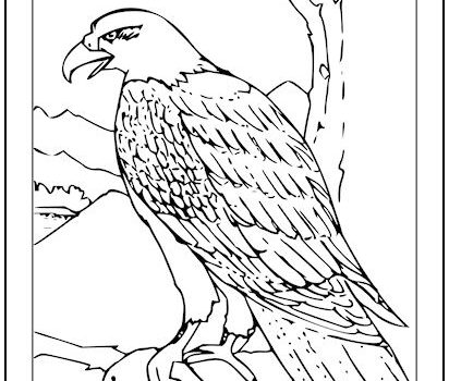 - Tag: Bald Eagle Coloring Page Print It Free